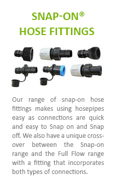 Snap-On Hose Fittings