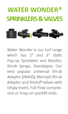 Water Wonder Sprinklers & Valves